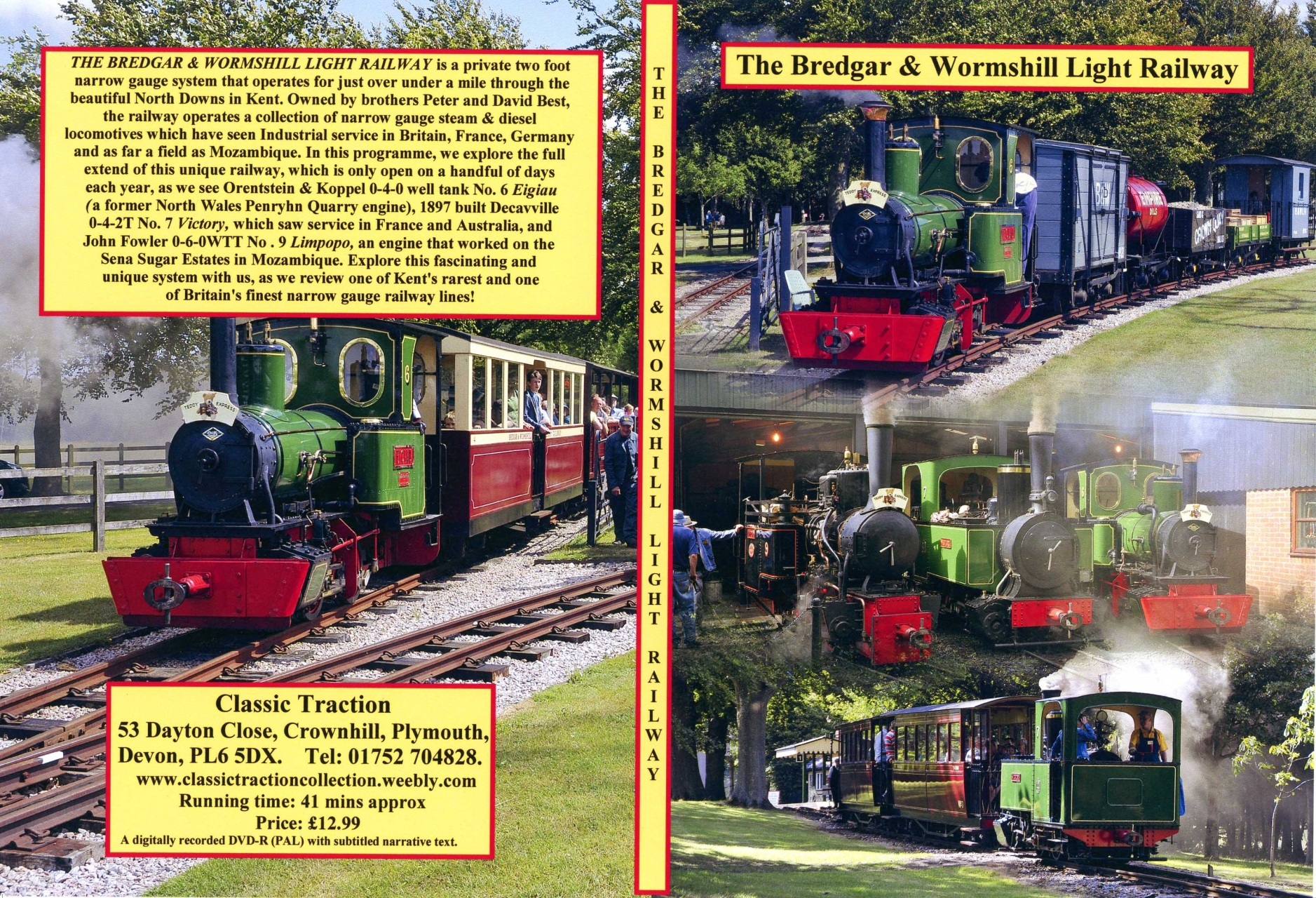 Classic Traction Nostalgia Dvds Classic Traction